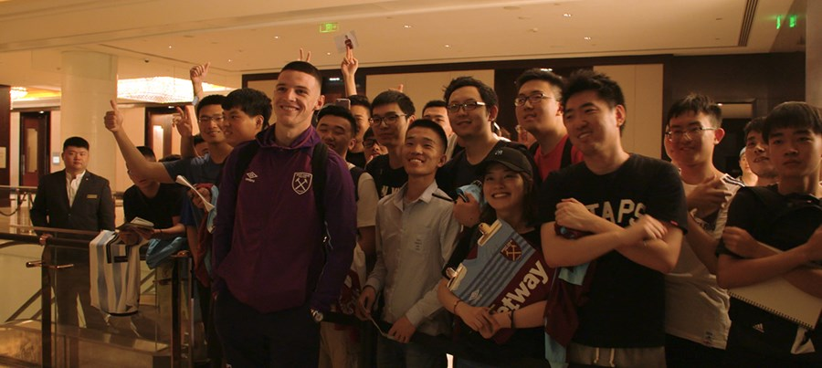 How unlikely Chinese fans are falling in love with West Ham United