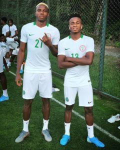 Exciting Trio Kalu, Chukwueze & Osimhen To Lead Eagles Attack Against Ukraine