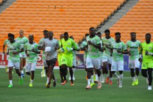 Super Eagles Train In Dnipro Ahead Ukraine Friendly