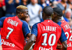 Victor Osimhen Wins Lille's Player of The Month award