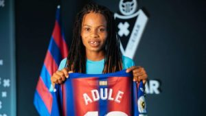 Charity Adule  joins Eibar from BIIK Kazygurt