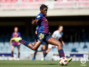 Asisat Oshoala's Barcelona smash NINE past Real Madrid Tacon