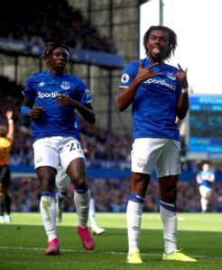 Silva Challenges Iwobi To Maintain Impressive Form With Everton