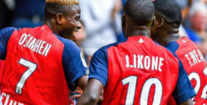 Super Eagles star Victor Osimhen scores again for Lille, equals 3-year-old record