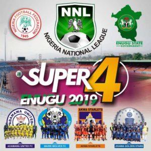 2019 NNL Super 4: Akwa Starlets Battle Warri Wolves In Playoffs Matchday