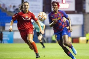 Asisat Oshoala set for maiden Women's El Clasico in Spain