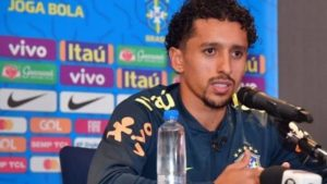 PSG Brazilian Defender Marquinhos Speaks On Osimhen Ahead Of Friendly Against Nigeria