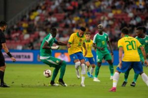 Super Eagles midfielder believes Senegal exposed Brazil