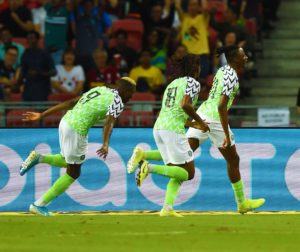 Joe Aribo On Target As Super Eagles Are Held By Brazil