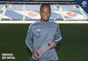 Dutch League Player Of The Month Ejuke Hints At Availability For U23 AFCON