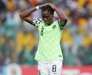 Oshoala Heartbroken After Falcon's Shock Olympic Exit