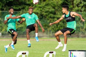 #BRANRA: Chukwueze, Iwobi, Aribo, Osimhen Start For Super Eagles Against Brazil