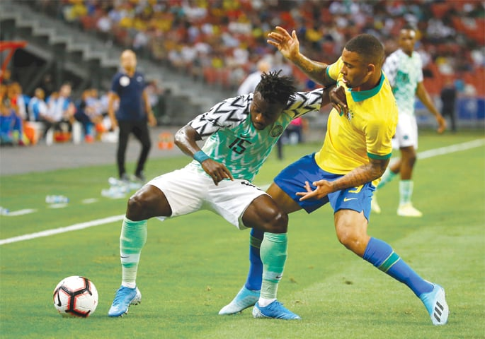Nigeria on the rise despite off-field worries