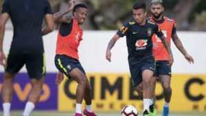 Brazil begin preparations for Super Eagles clash