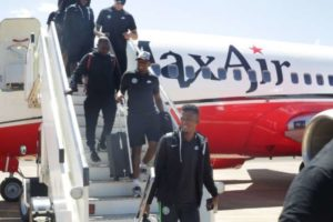 AFCONQ: Super Eagles arrive in Maseru ahead Sunday's clash with Lesotho