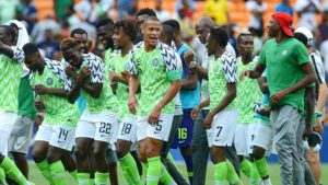 Kalu's Second half Strike Helps Super Eagles Edged Squirrels of Benin in Qualifier