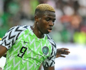 Rohr: Victor Osimhen learnt a lot during 2019 Afcon