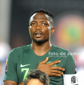 AFCONQ: Ahmed Musa reveals Super Eagles target after recovering from injury