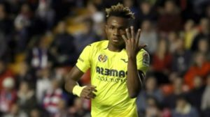 Villarreal Coach Emery reveals Chukwueze might leave the club