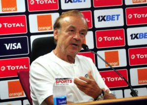 Eguavoen supports Rohr, wants new clause in fresh deal