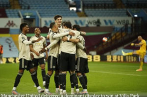 Ighalo's Manchester United beats Aston Villa to keep Champions League hope alive