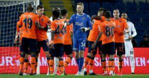 Okechukwu and Teamates celebrate Turkish Super Lig title