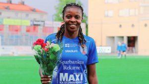 Falcons Star Okeoghene scores as Eskilstuna United see off Vittsjo