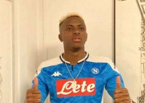 Exclusive: Napoli Sign Super Eagles Sensational Osimhen