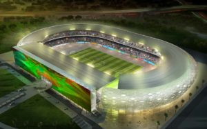 Akwa United inspects Nest of Champions Stadium