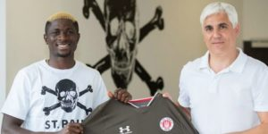 Former Flying Eagles star Afeez Aremu joins German second tier St Pauli