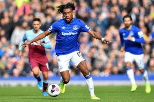 Iwobi returns to Everton squad ahead of West Brom game
