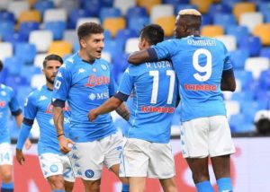 Osimhen bags assist in first Serie A start in Napoli's big win against Genoa