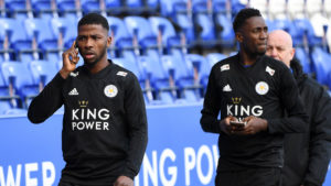 Iheanacho, Ndidi on Pre-season with Leicester