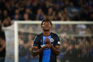 Club Brugge's Okereke tests positive for corona