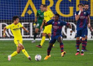 EX-Arsenal Player Kelechi Nwakali makes La Liga debut vs Villarreal