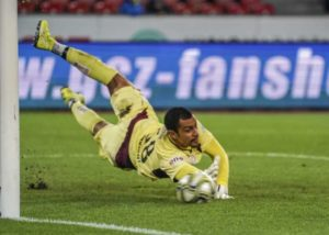 Sebastian Osigwe celebrates draw by 10-man Lugano