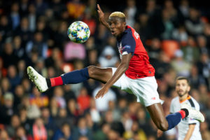 Barcelona were pondering over Osimhen as Luis Suarez's replacement