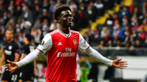 Bukayo Saka reveals role models at Arsenal