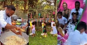 Watch pictures & videos of Mikel Obi's birthday party for twin daughters