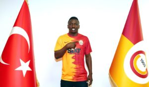 Etebo expresses delight over switch to Turkish side Galatasaray