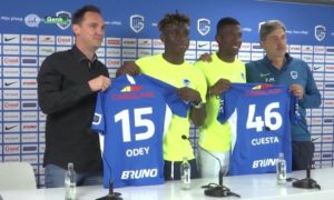 Nigerian youngster Stephen Odey joins Genk on-loan
