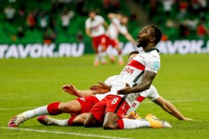 Victor Moses Delighted To have score First Goal For Russian Side Spartak Moscow In His First Start