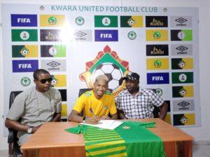 Kwara United Signs Brazillian Winger, Ribeiro Alves Lucas