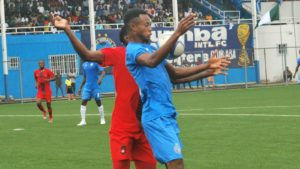 Mbaoma's header hands gives Enyimba Caf Champions League first-leg edg