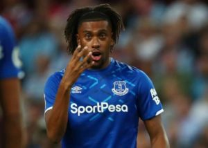 Eagles forward Iwobi relishes new wing-back role at Everton