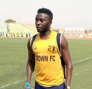 Nigerian Footballer sadly dies during training