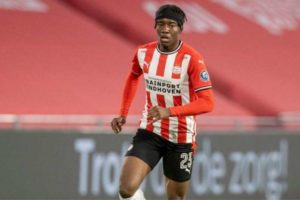 PSV Star Madueke Expresses desire to play for Nigeria