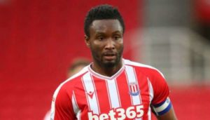 Blow for Stoke as Mikel Obi extremely doubtful for Middlesbrough clash