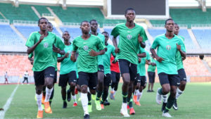 NFF Boss Charges Eaglets to Show Winning Mentality Against Ghana