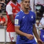 Nigerian-born defender Awe reveals how Arsenal snatched him from London rivals